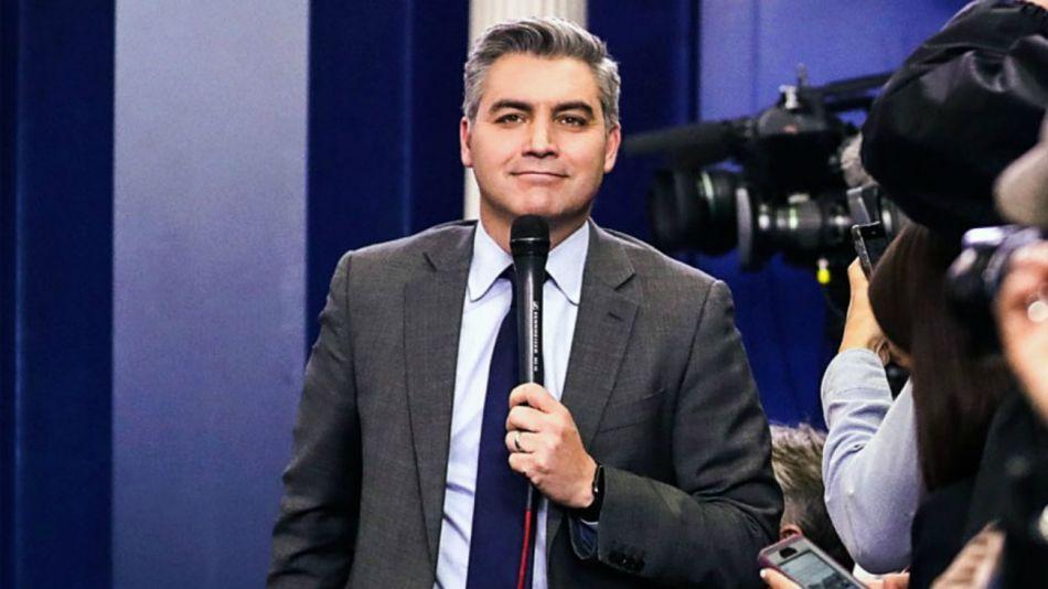 Jim Acosta, corresponsal de CNN en la Casa Blanca