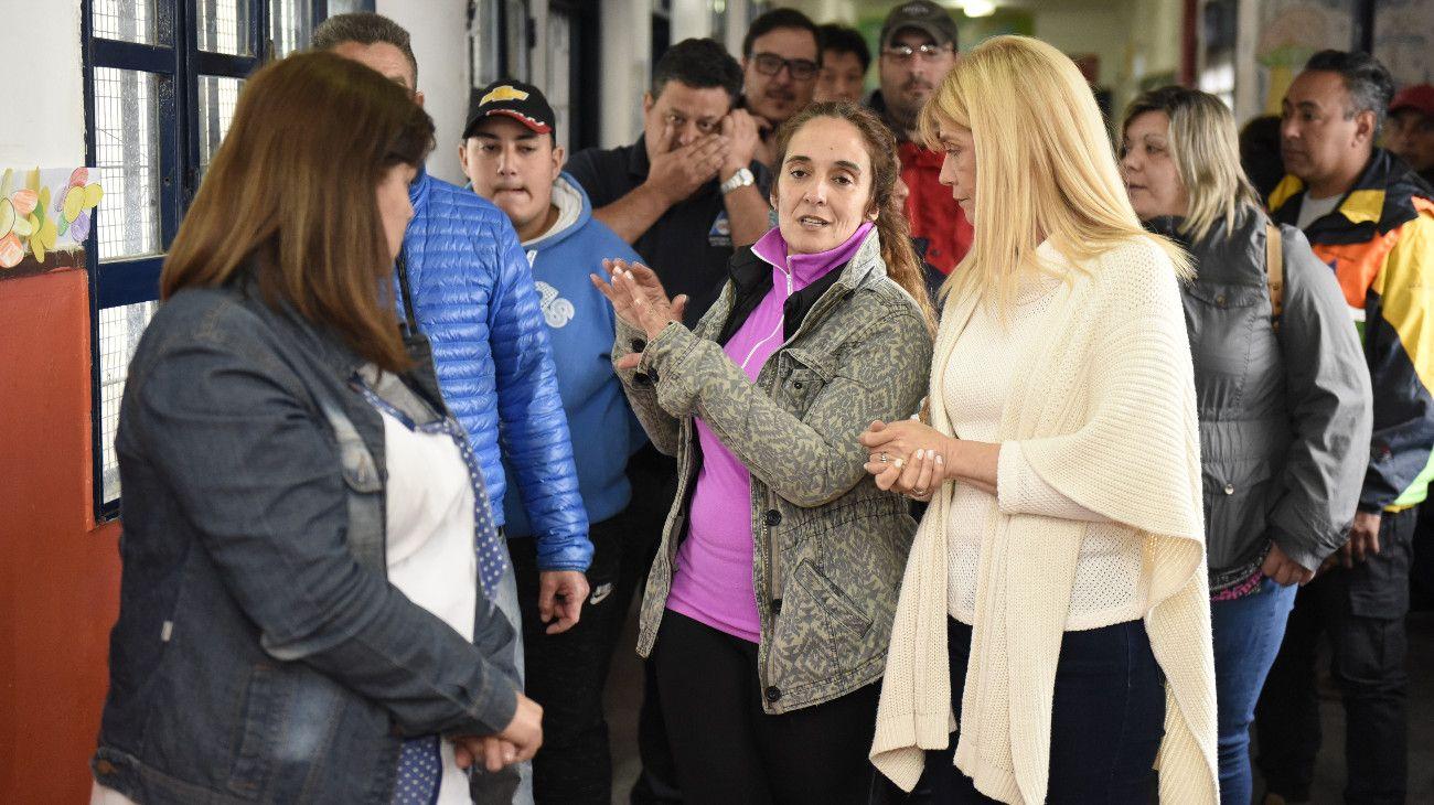 Las inundaciones en La Matanza desataron una pelea política entre Vidal y Magario