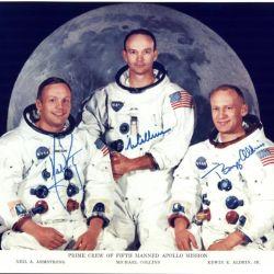 Los miembros de la Apollo 11, cuya hazaña cumplió 50 años en 2019.