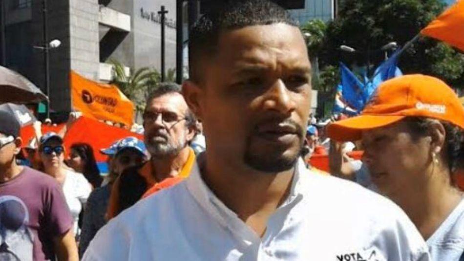 Edmundo Rada, concejal opositor asesinado en Venezuela.