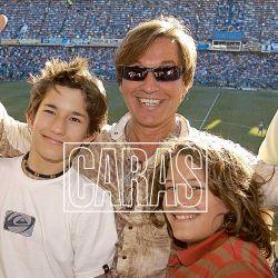 Conocé a Mau y Ricky, los hijos de Montaner que son sensación en la música