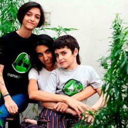 Valeria Salech lucha para que se legalice el uso medicinal del cannabis