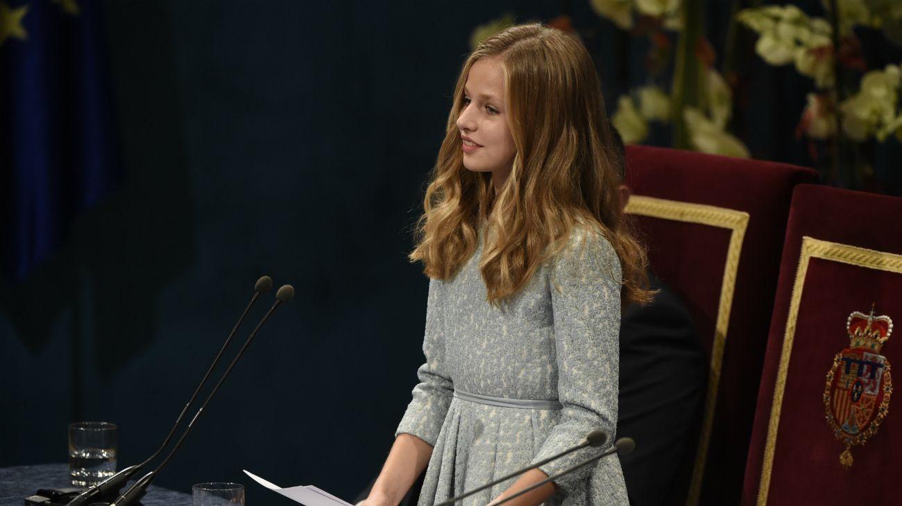 El primer discurso oficial de la infanta Leonor en los Premios Princesa de Asturias