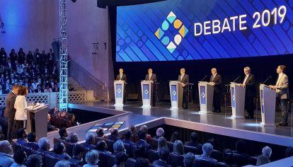 Imagen del debate en su primera edición en Santa Fe.