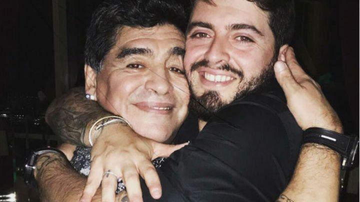 Maradona fue abuelo: nació la hija de Diego Jr.