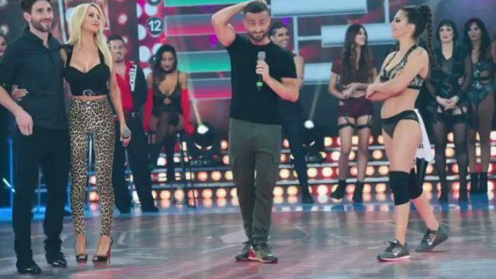 Luciana Salazar y Cinthia Fernández: tenso cruce en la pista del Bailando