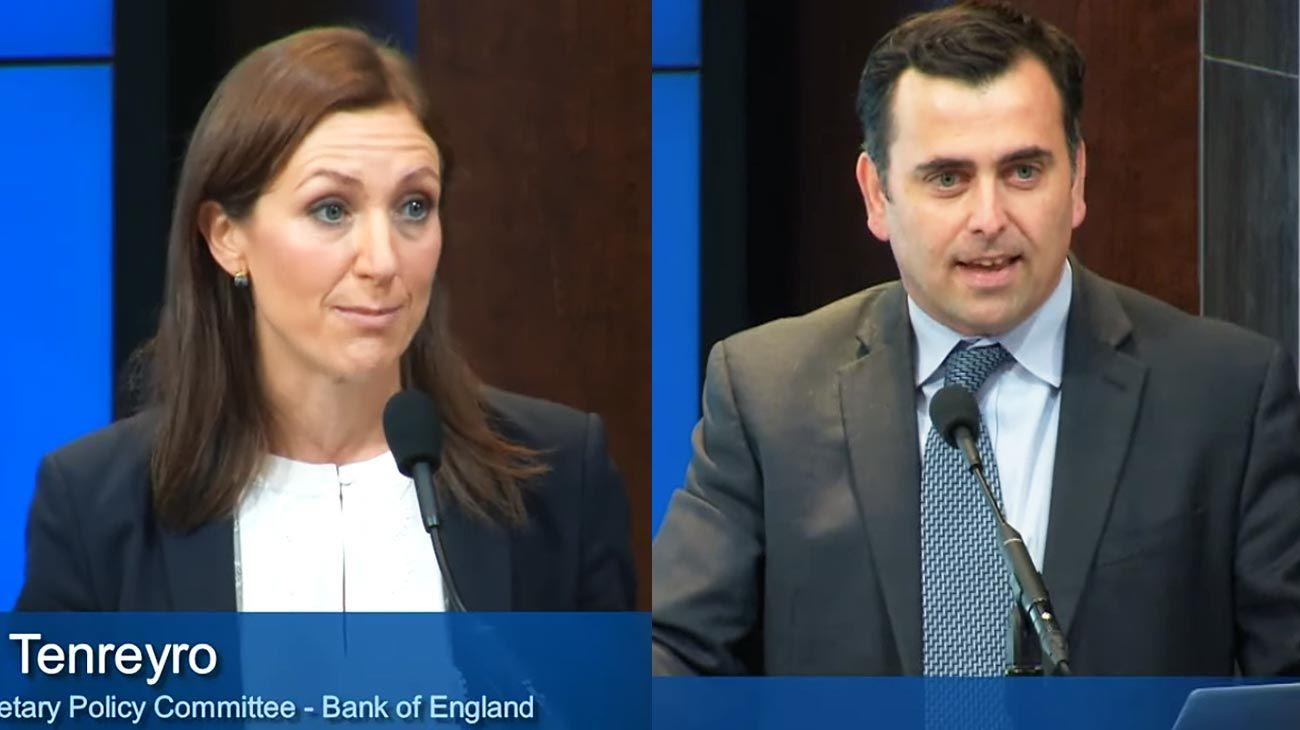 Caso. Tenreyro y Cavallo (h) hablaron en EE.UU. de por qué (ahí) no hay inflación.