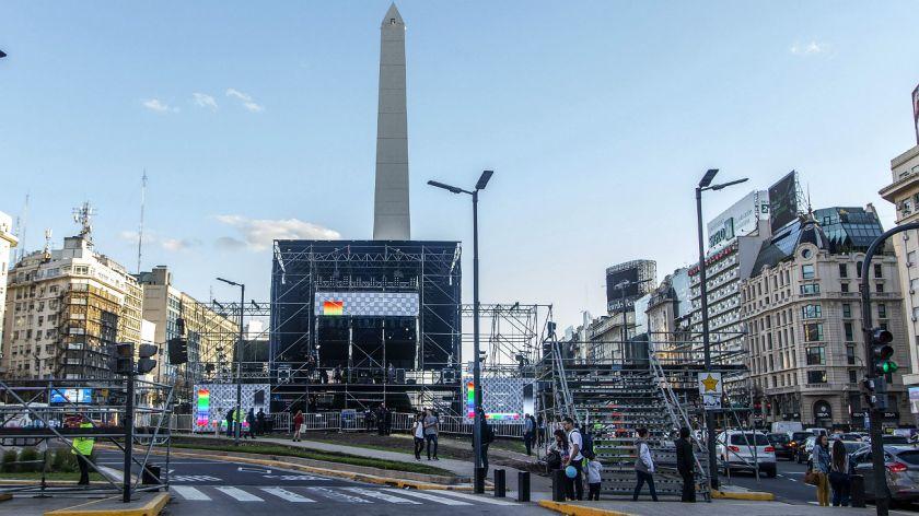 Sorprendió hasta a JxC la convocatoria multitudinaria en el Obelisco