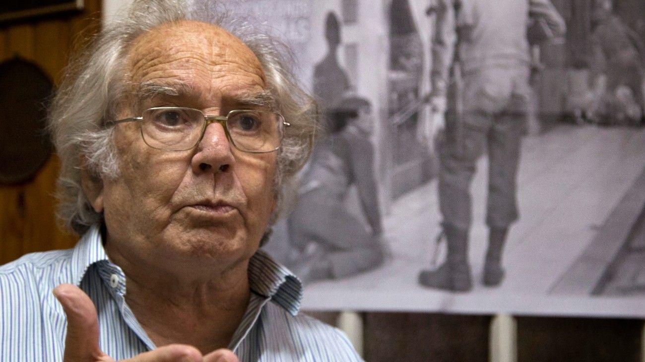 Adolfo Pérez Esquivel, titular de la Comisión Provincial por la Memoria.