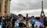 Cientos de argentinos acompañan la Marcha del Millón en el resto del mundo