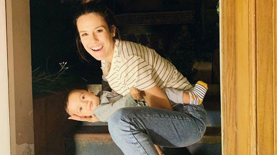 Luli Fernández con Indalecio