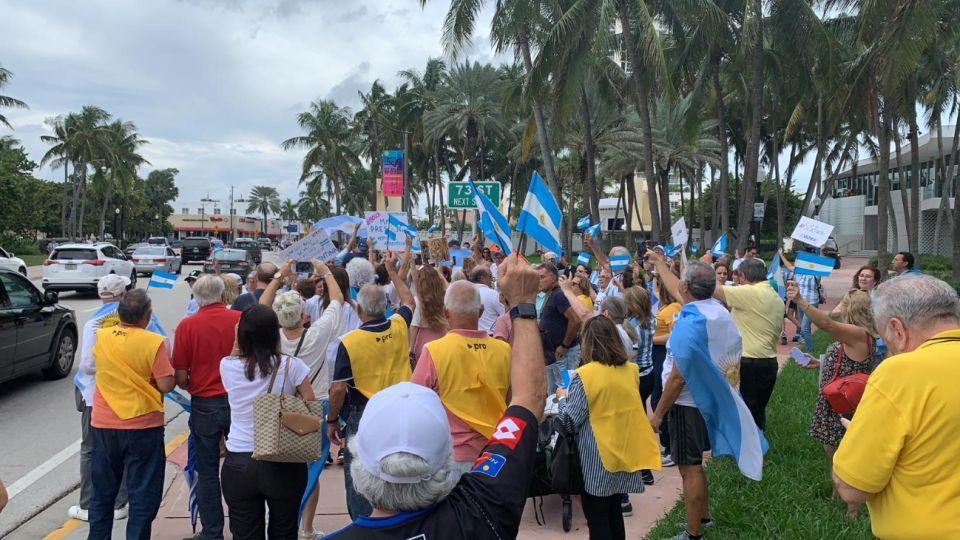 La Marcha del Millón llegó a Miami.