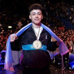 Trueno se consagró campeón con 17 años y haciendo su debut en el torneo