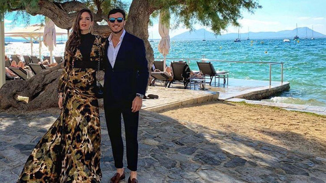 Pico Mónaco y su novia