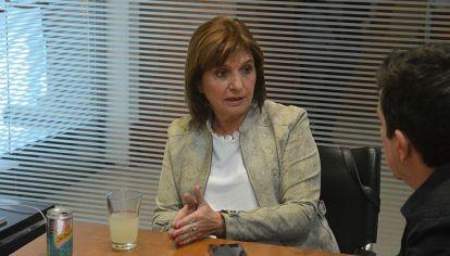 """A FONDO. """"Desde el primer momento apoyamos a Laura Sesma en su investigación contra el Surrbac. Son las mafias que queremos erradicar"""", dice Bullrich."""