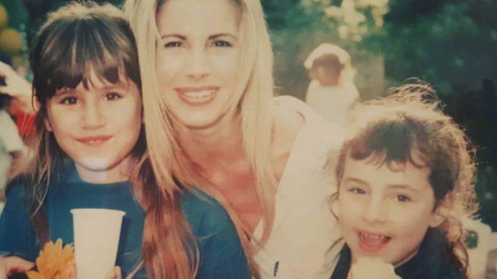 Cande y Mica Tinelli fueron sorprendidas por su madre