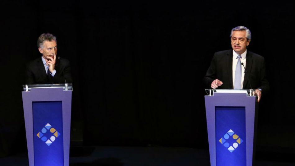 Alberto Fernández habló de Franco Macri y el Presidente le retrucó.