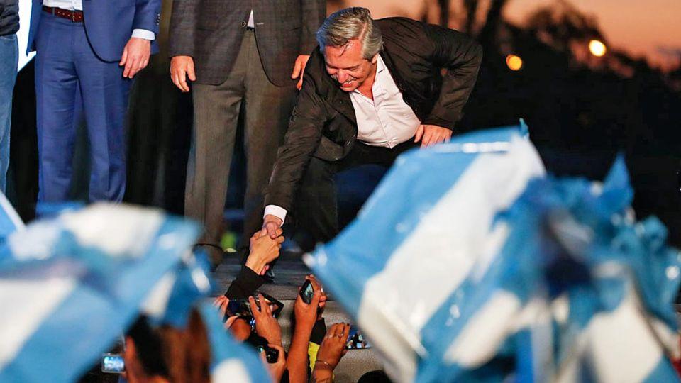Activo. Después de La Pampa y antes de la veda electoral, apoyará a distintos candidatos locales.