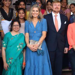 Máxima Zorreguieta: la reina deslumbró con su looks en La India