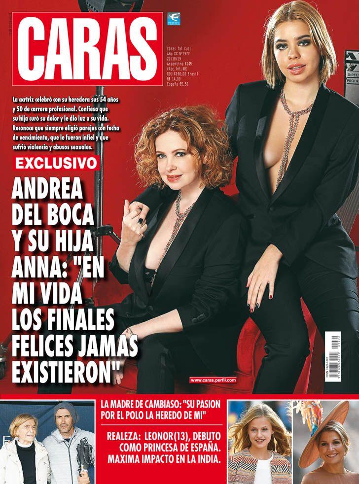 """Andrea del Boca y su hija Anna: """"En mi vida los finales felices jamás existieron"""""""