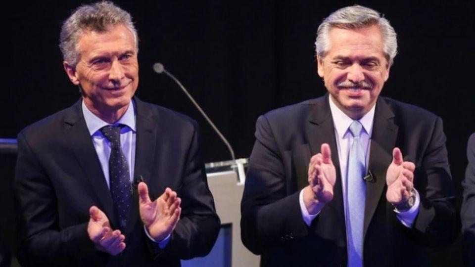 El Presidente y su principal rival tuvieron un duro cruce durante el debate.