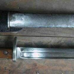 Deriva de la bayoneta Remington Nº 5 Modelo Mexicano 1899.