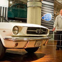 El reencuentro de Harry Phillips con el primer Ford Mustang luego de 55 años.