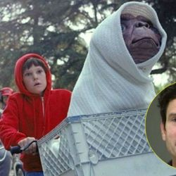 Herny Thomas en E.T.