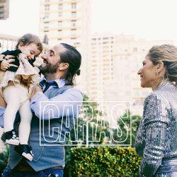 """Mariano Chiesa, """"Tito"""" Lecture"""" de la serie Monzón, presenta a su familia"""