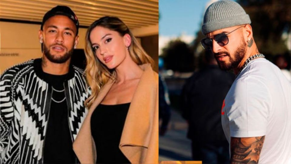 ¡A lo Icardi! Neymar le robó la novia a Maluma