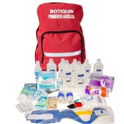 Armar un botiquín básico de emergencia que incluya: repelente para insectos (con DEET), alcohol en gel, antiséptico, protector solar, gasas esterilizadas, entre otros elementos.