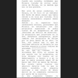 Denuncia contra Felipe Pettinato