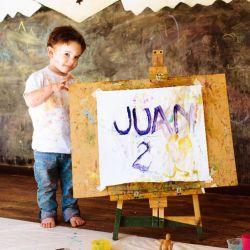 El increíble cumpleaños de Juan, el hijo de Agustina Kämpfer
