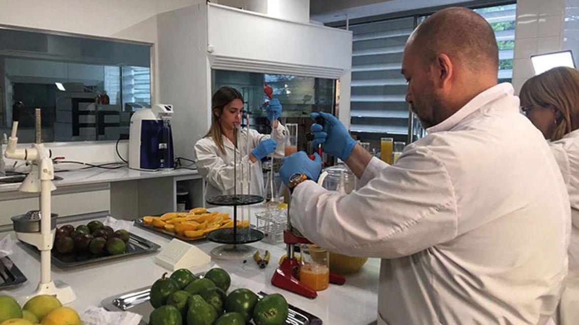 Laboratorio de control de calidad de los alimentos   Foto:cedoc