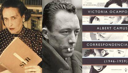Victoria Ocampo, Albert Camus y Correspondencia
