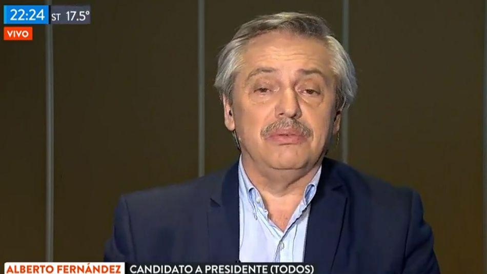 Alberto Fernández, desde Chaco en