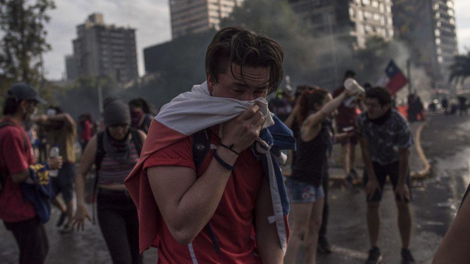 Chile Protestas Represion
