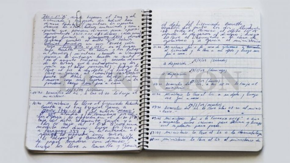 cuadernos de las coimas