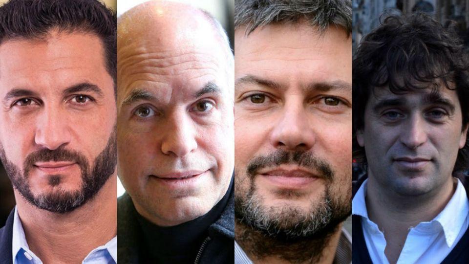 Tombolini, Larreta, Lammens y Solano.