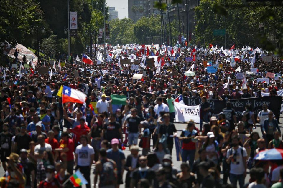 protestas chile afp