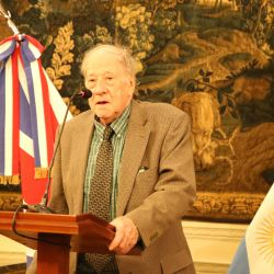 Britain's Ambassador in Argentina Mark Kent hosted a memorial service for late author and journalist Andrew Graham-Yooll, featuring words of remembrance from Andrew's children (Inés, Luis and Isabel), former Buenos Aires Herald editor Robert Cox and his cousin John Hunter.