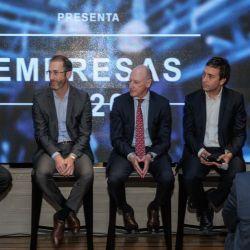 Carlos Zarlenga, Federico Trucco, Luis Fontana, Alejandro Rebossio y Maximiliano Sardi. | Foto:Juan Ferrari