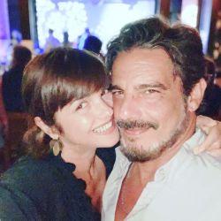 "El romántico posteo de Araceli González ""comiéndole"" la boca a Fabián Mazzei"
