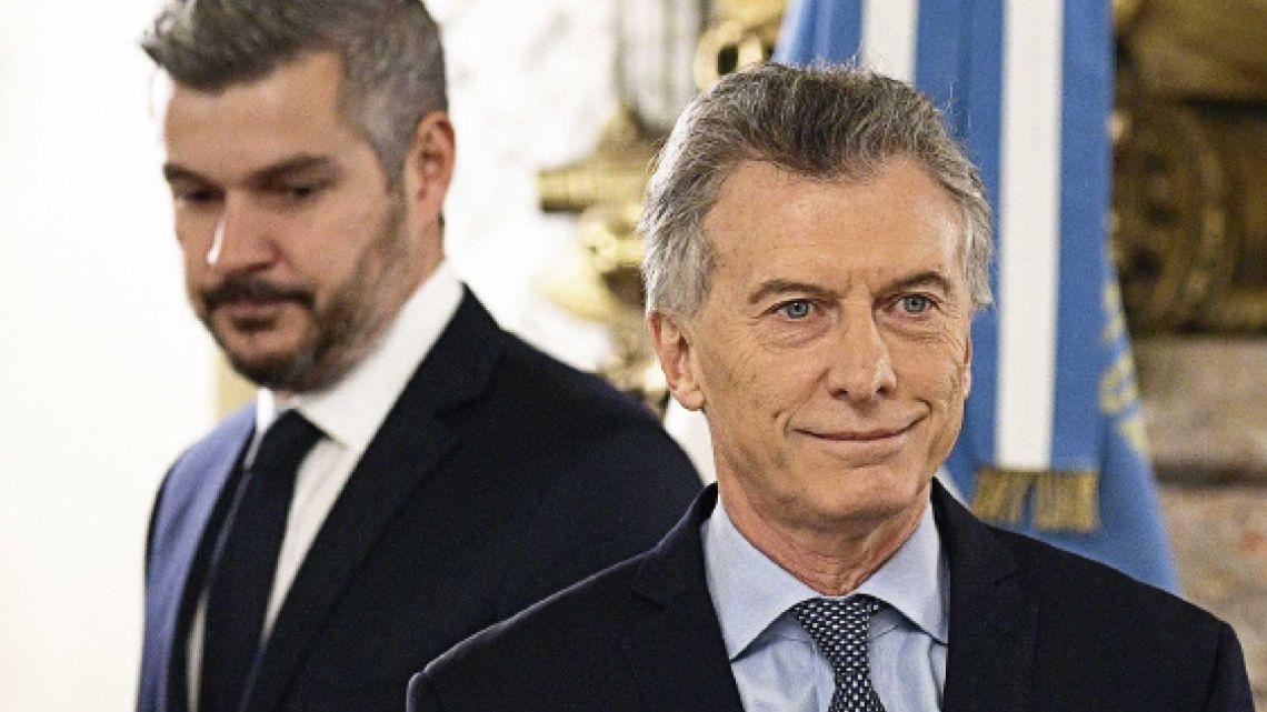 Tras la derrota de las PASO, Peña estuvo cerca de ser reemplazado pero logró resistir en su cargo. | Foto:cedoc