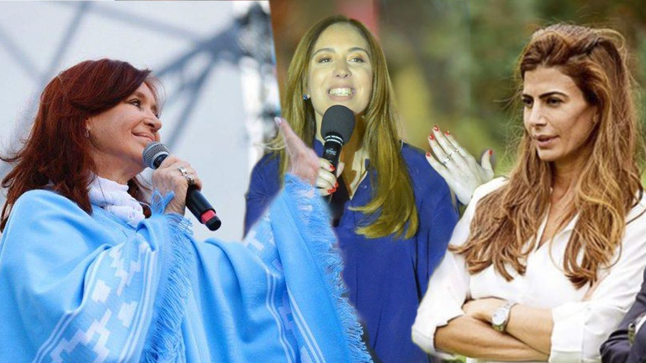 Cristina Kirchner, María Eugenia Vidal y Juliana Awada. | Foto:cedo