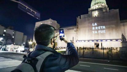 La intervención, sobre más de 100 edificios de la Ciudad de Buenos Aires.