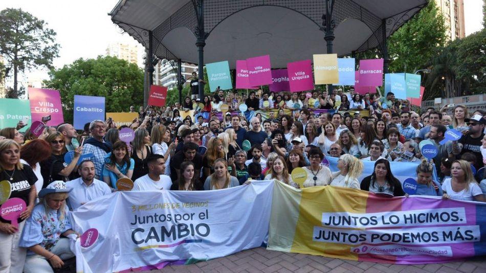 Cierre de campaña de Horacio Rodríguez Larreta
