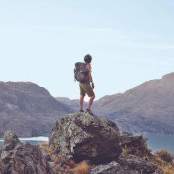 Durante tres días disfrutamos de la quietud y los paisajes del lago San Martín.