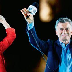 Mauricio Macri eligió hacer el cierre de su campaña en Córdoba, luego de recorrer 30 ciudades con su marcha federal | Foto:Cedoc