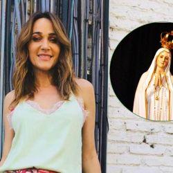 Vero Lozano y la Virgen de Fátima